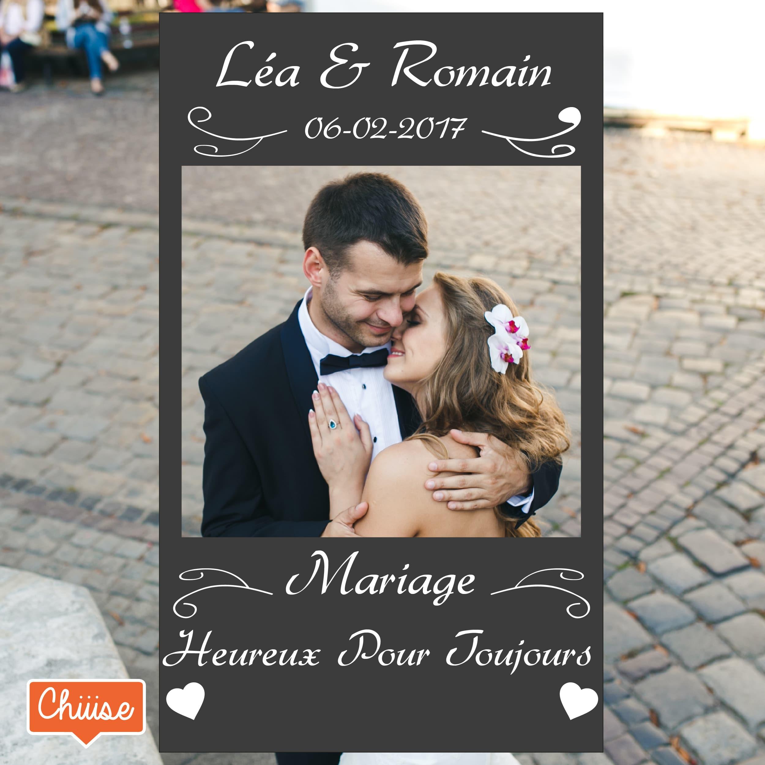 cadre photobooth mariage