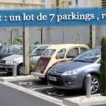 Investissement place de parking
