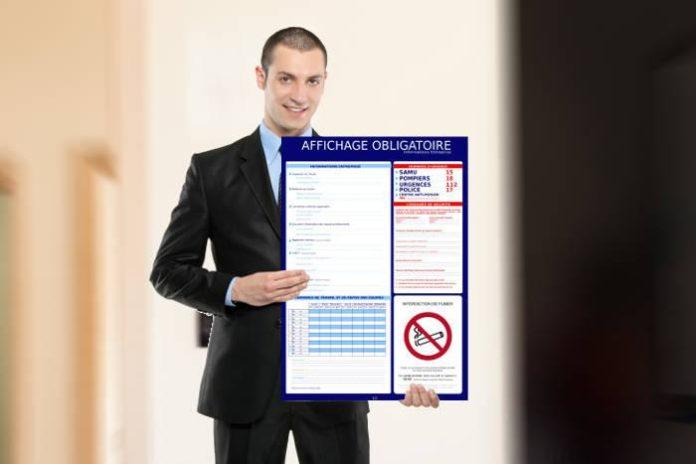 Panneau affichage obligatoire