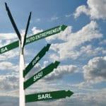 Panneaux de direction auto entrepreneur