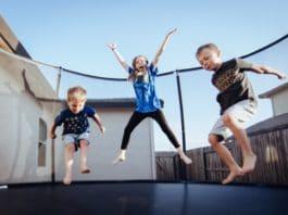 trampoline jeux