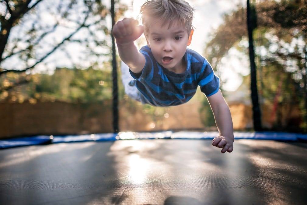 trampoline jeux a faire